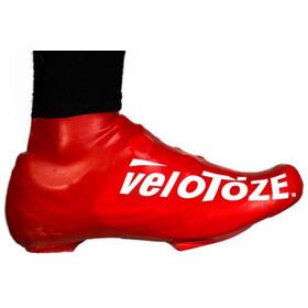 veloToze Road 2.0 Overschoenen Kort, rood